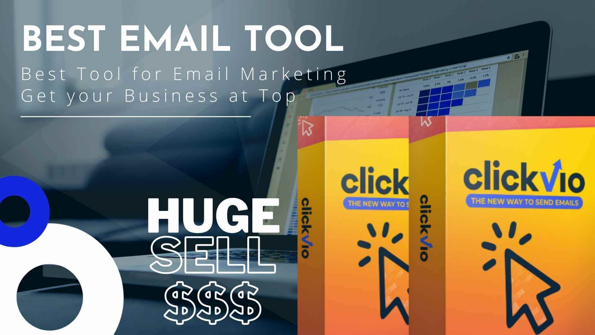 Best Email Marketing Tool Clickvio Review